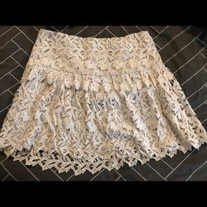 Lace Alice and Olive mini skirt